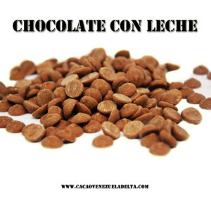 GOTAS CHOCOLATE CON LECHE