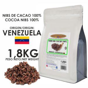 NIBS DE CACAO - VENEZUELA - 1,8KG