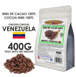 NIBS DE CACAO - VENEZUELA - 400G..