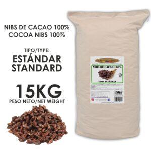 NIBS DE CACAO - ESTANDAR - 15KG